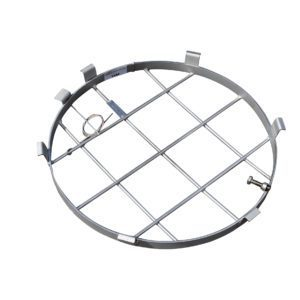 Caliber Round Manhole Safety Grille