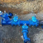 Hawle E2 Valve, Gillies Hydrant, Gillies Fittings and Blue Gaskets