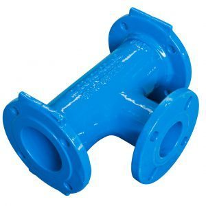 Gillies Ductile Iron Flanged Tee