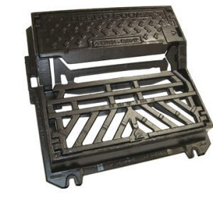 SW07 Tempo Hinged Kerb Gully Grate Frame