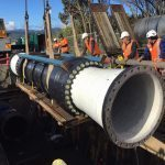 Largest Flextend In New Zealand Installation - Marine Parade Wellington