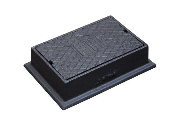Cast Iron Hydrant Box - Service Box