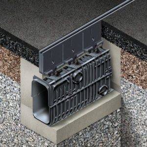Hauraton RECYFIX® HICAP F Slot Drain System for High Loading Drainage Applications