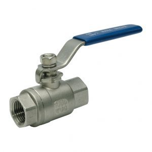 Hydrotite 2 Piece Ball Valve Full Bore BSP