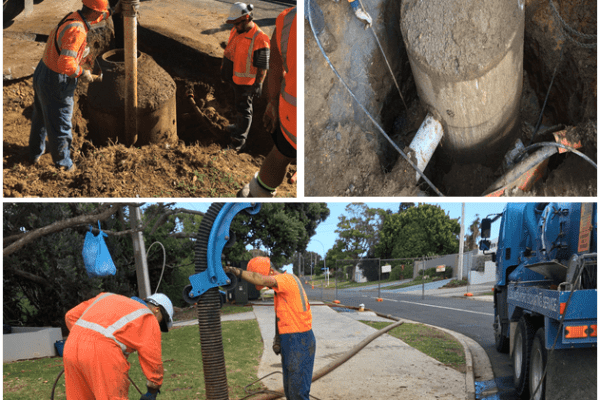 Marine Parade Manhole Replacement