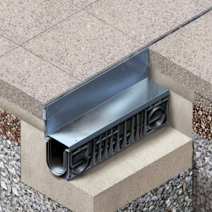 Hauraton RECYFIX® SLOTTED Channel Covers for Residential and Commercial Drainage Applications