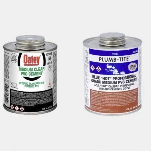 Solvent cements and primers