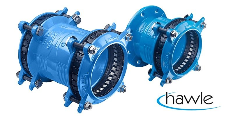 Hawle Synoflex Coupling and Flange Adaptor Range